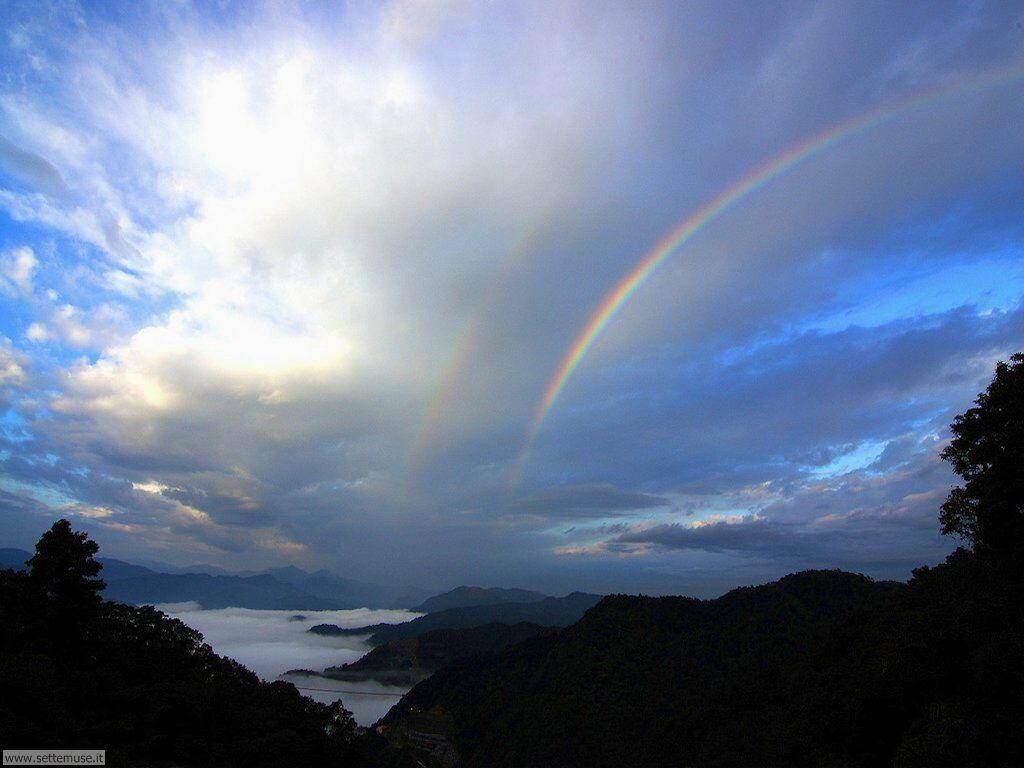 Sfondi desktop di arcobaleni 018