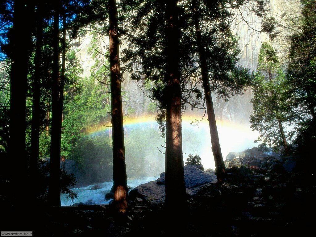 Sfondi desktop di arcobaleni 024