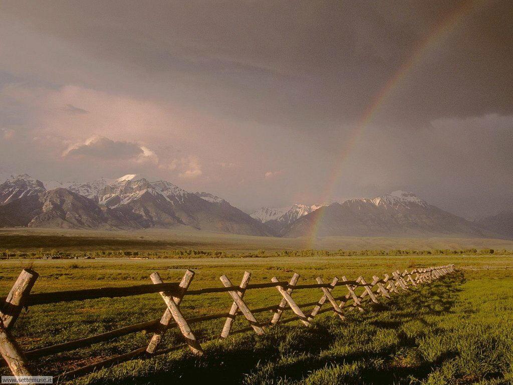 Sfondi desktop di arcobaleni 025