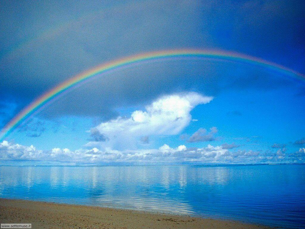 Sfondi desktop di arcobaleni 027
