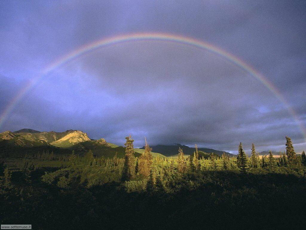 Sfondi desktop di arcobaleni 029
