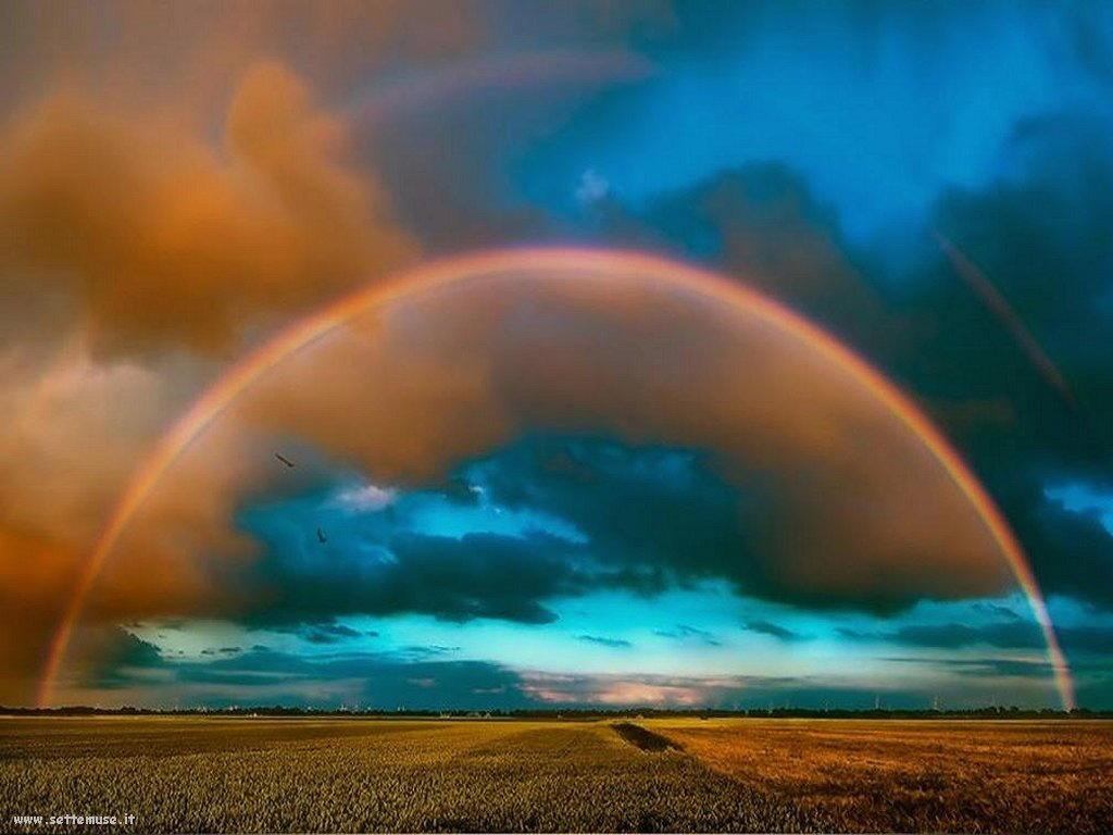 Sfondi desktop di arcobaleni 032