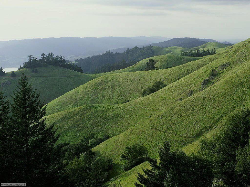 Foto campagne colline e vallate per sfondi desktop for Piani di campagna in collina