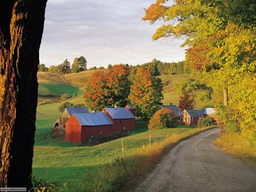 Foto campagne colline e vallate per sfondi desktop for Disegni di cabina di campagna