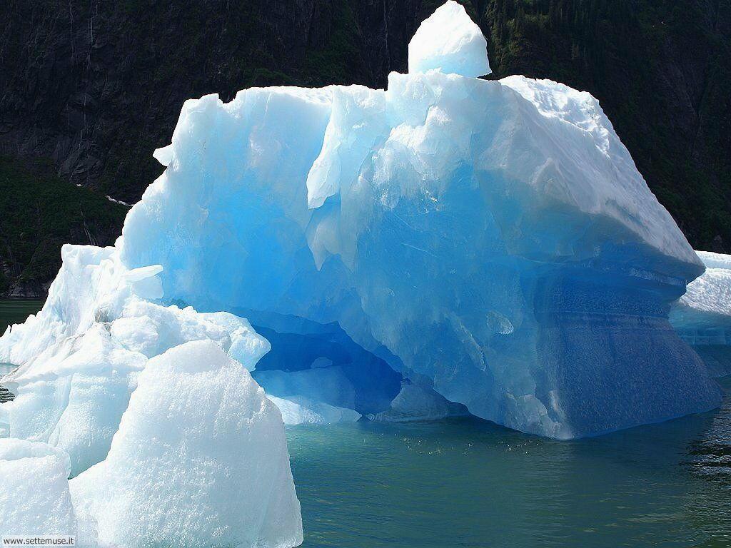 foto di ghiacci ghiacciai iceberg per sfondi
