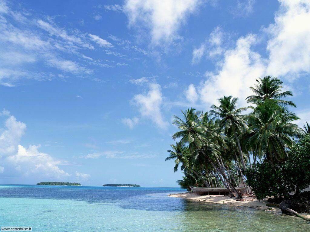Foto desktop di isole e atolli 003