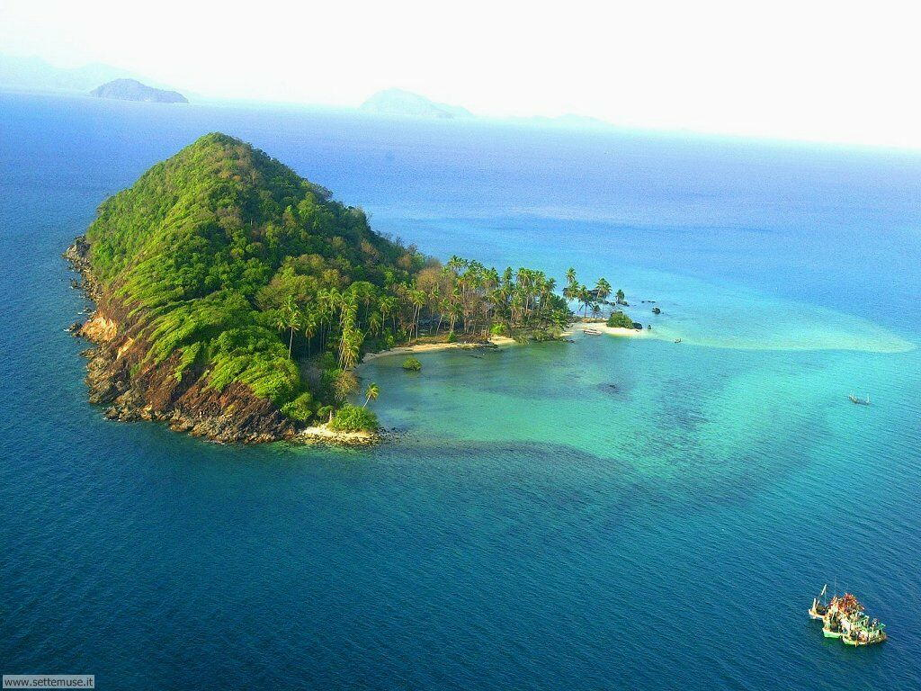 Foto isole e atolli per sfondi desktop for Foto mare per desktop