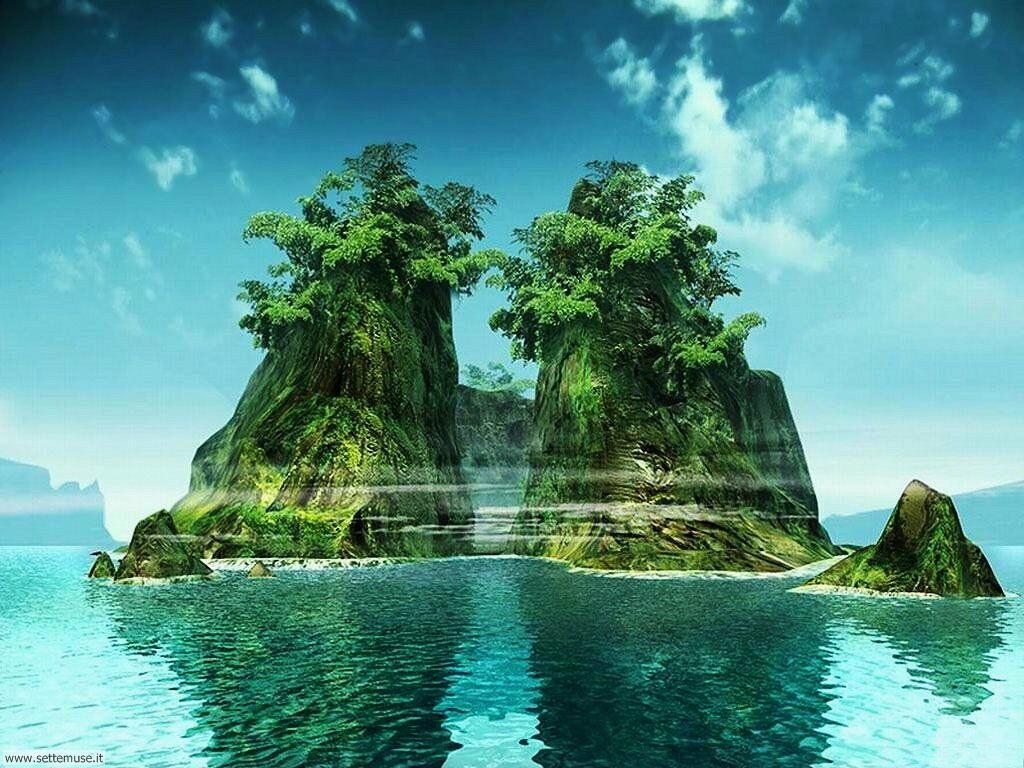 Foto desktop di isole e atolli 008
