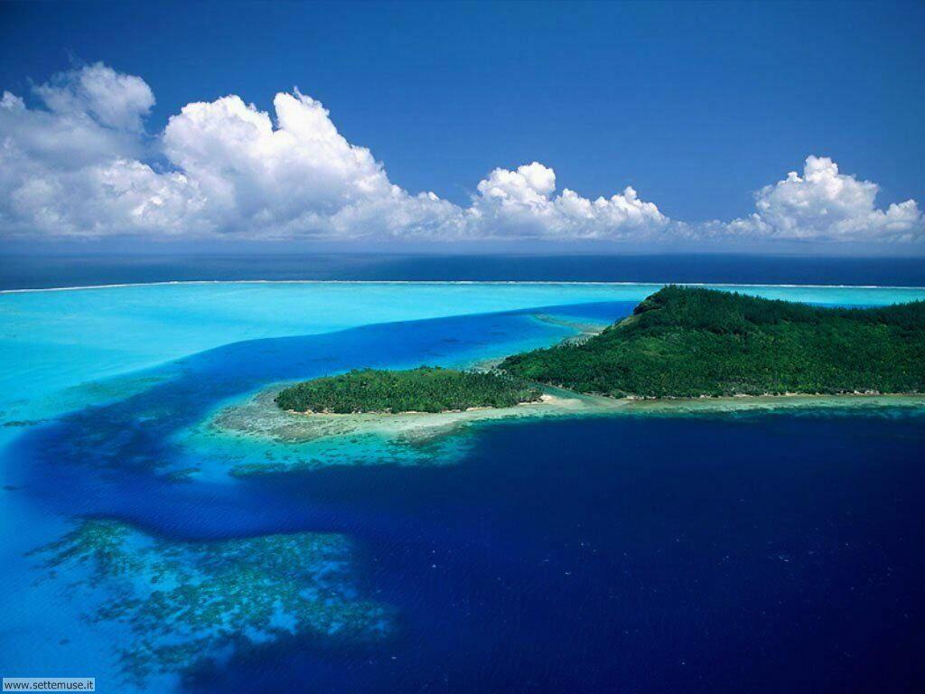 Foto desktop di isole e atolli 010