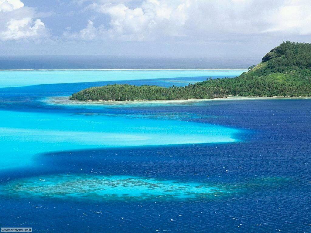 Foto desktop di isole e atolli 011
