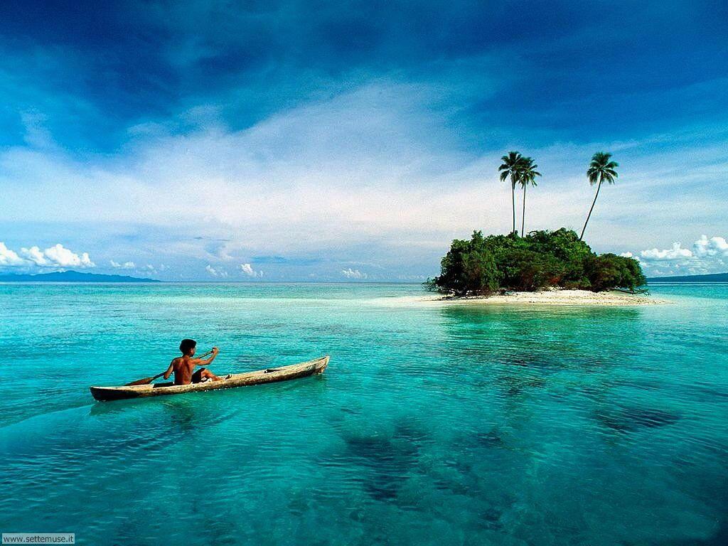 Foto desktop di isole e atolli 017