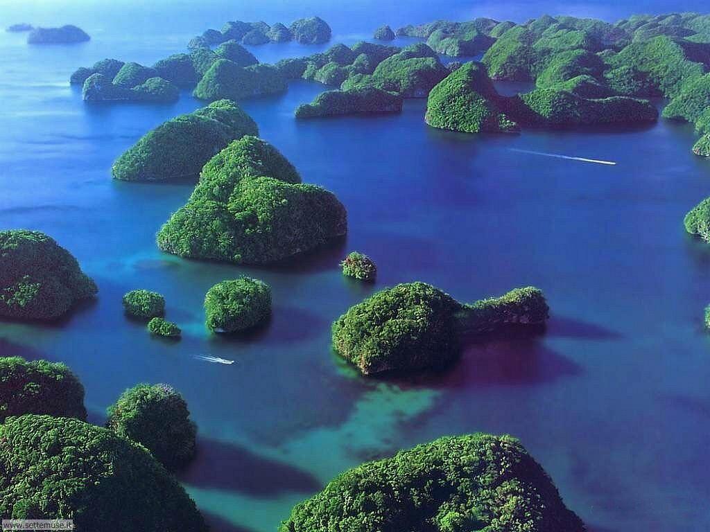 Foto desktop di isole e atolli 020