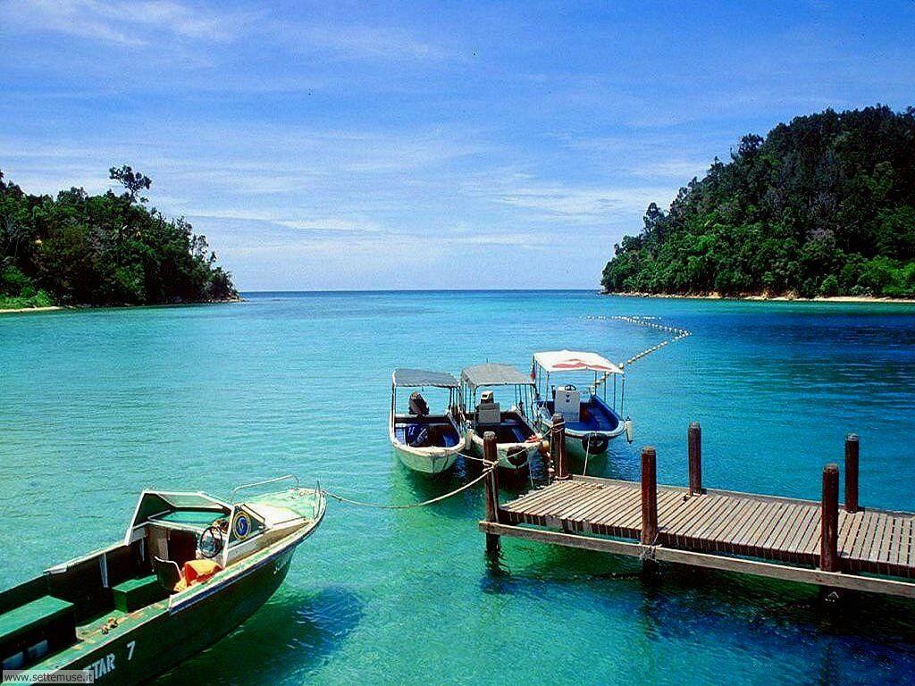 Foto desktop di isole e atolli 022