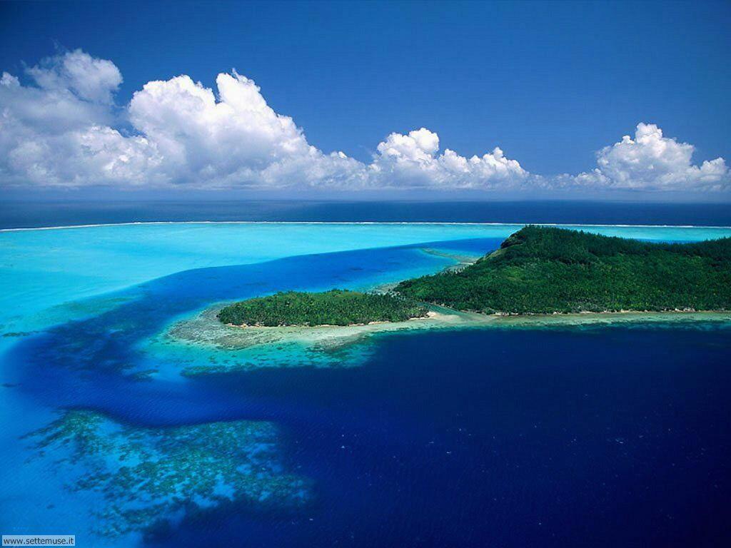 Foto desktop di isole e atolli 024