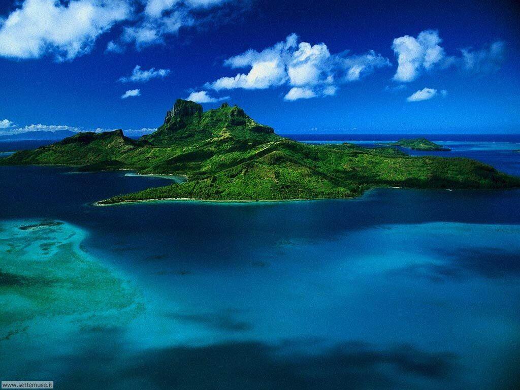 Foto desktop di isole e atolli 025