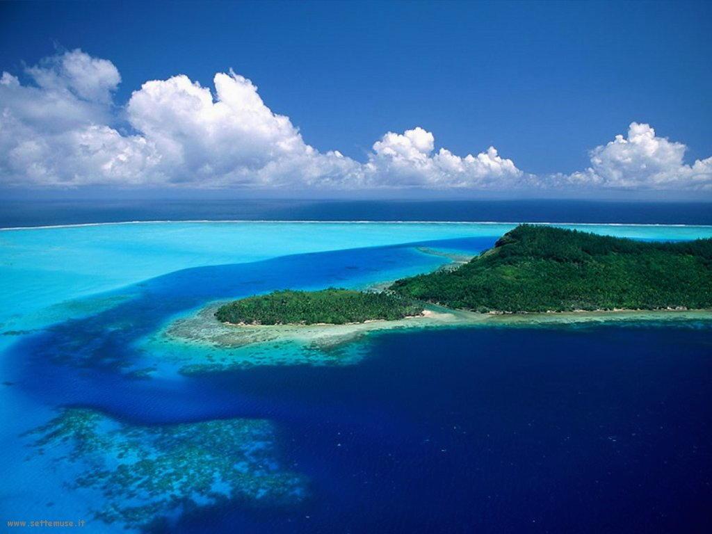 Foto desktop di isole e atolli 028