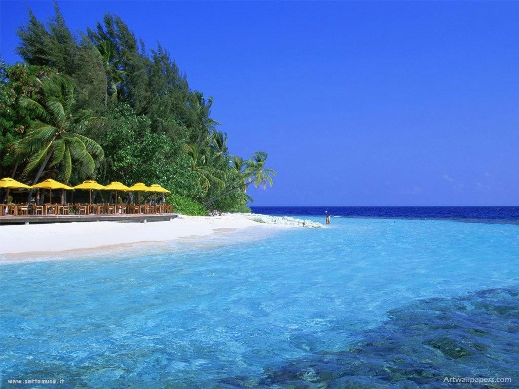 Foto desktop di isole e atolli 032