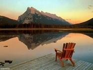 Foto desktop di laghetti di montagna