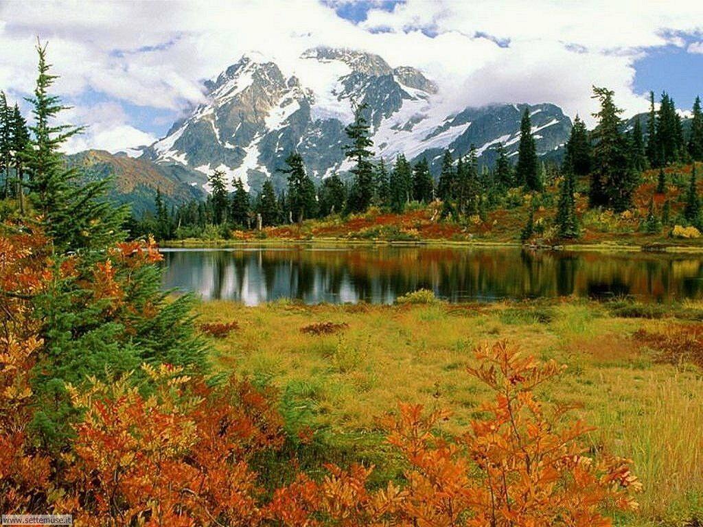 Foto laghi di montagna per sfondi desktop for Autunno sfondi desktop