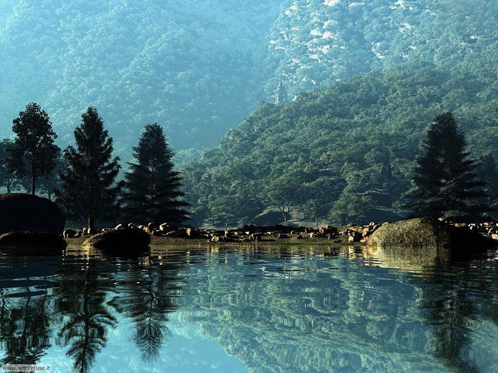 Foto desktop di laghetti di montagna 005