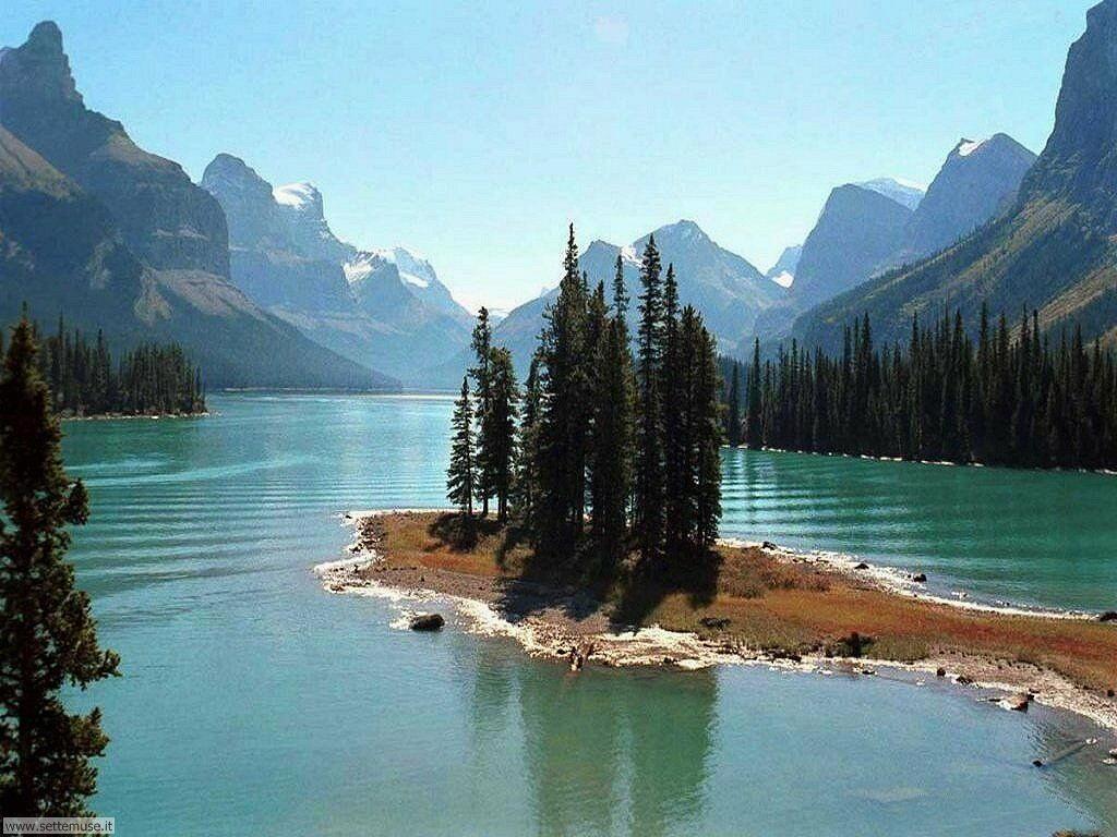 foto laghi di montagna per sfondi desktop