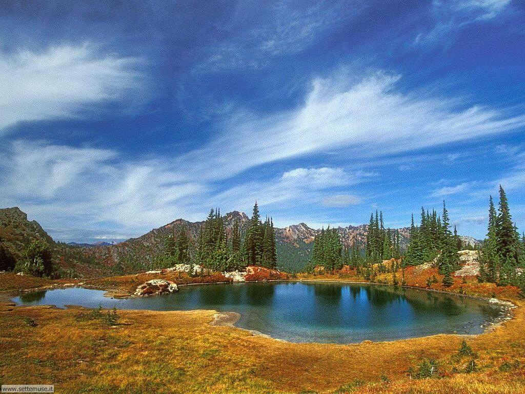 Foto desktop di laghetti di montagna 011
