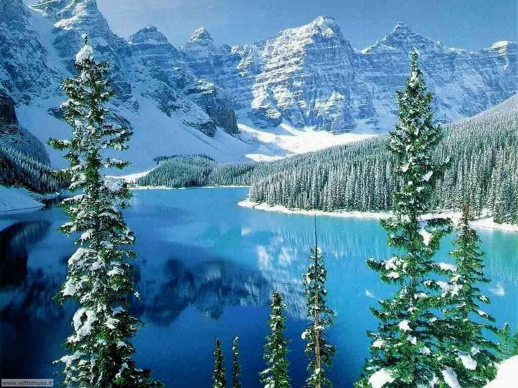 Foto desktop di laghetti di montagna 012