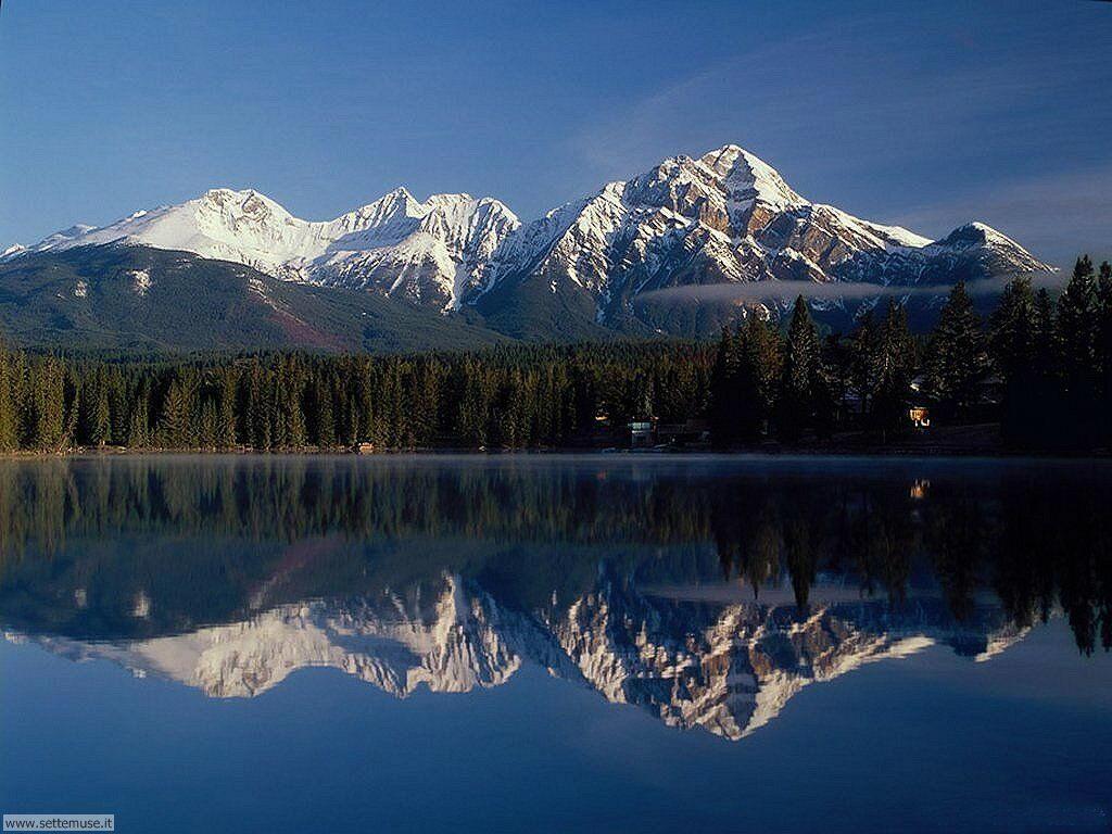 Foto desktop di laghetti di montagna 018