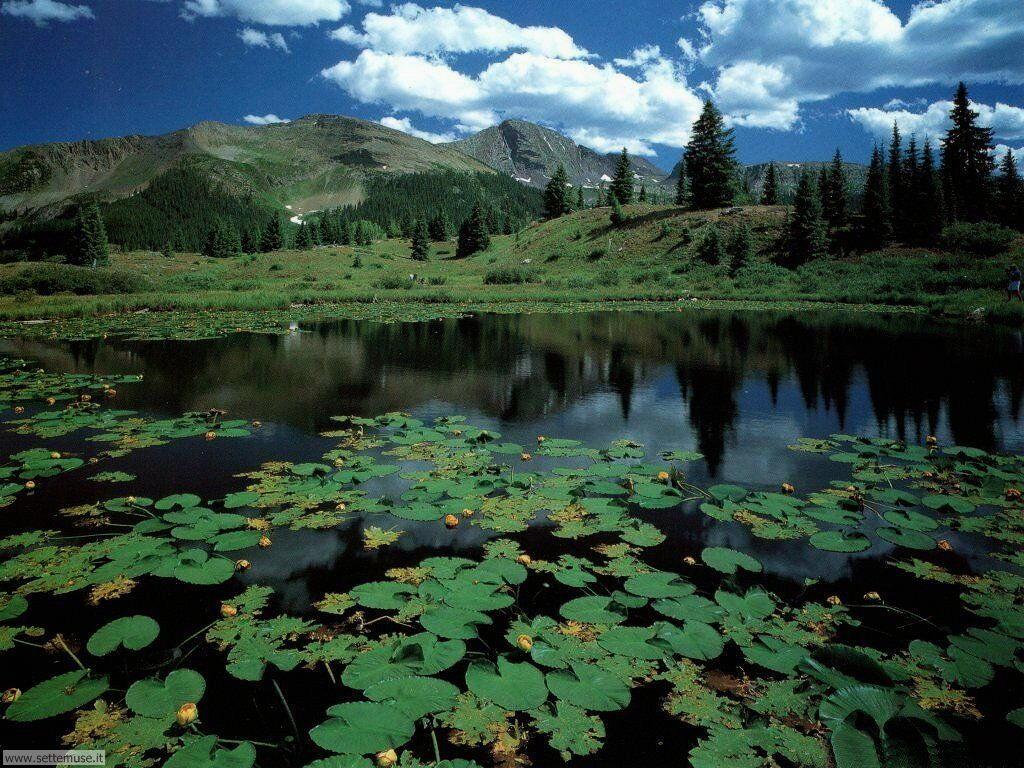 Foto desktop di laghetti di montagna 027