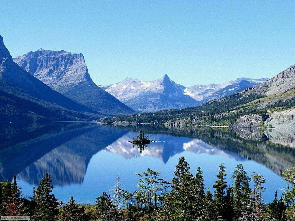 Foto desktop di laghetti di montagna 042