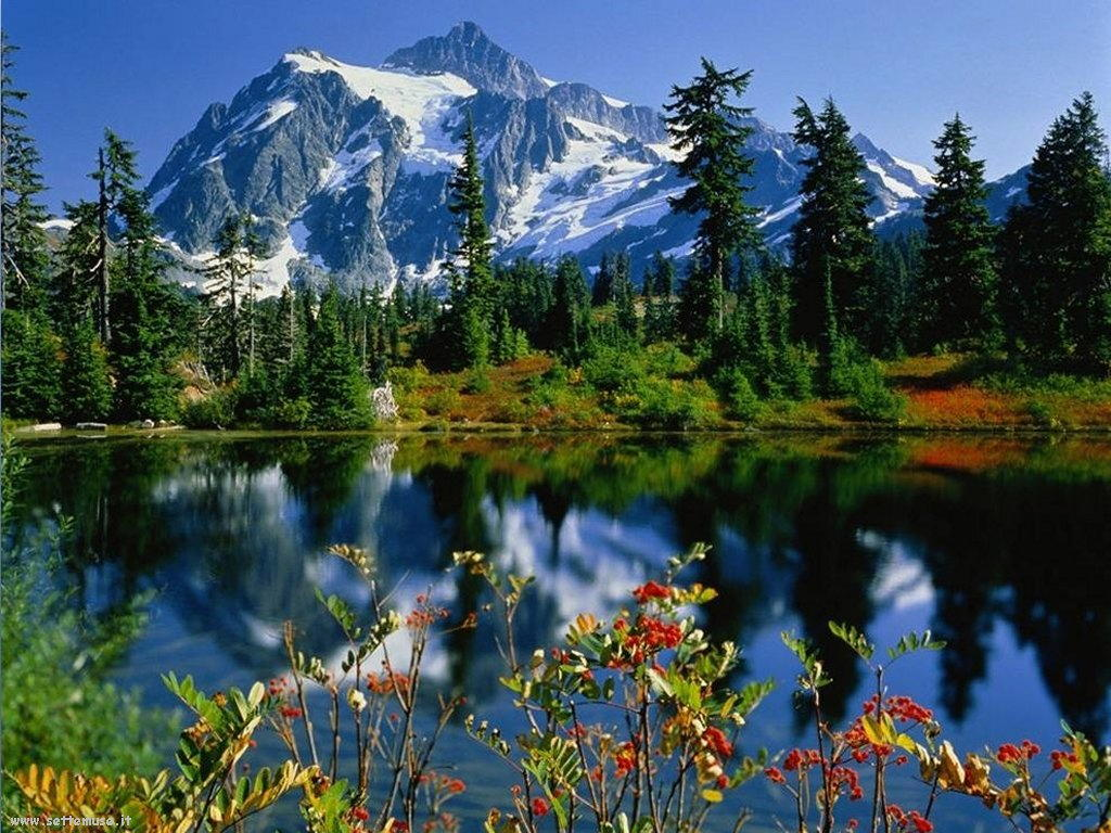 Foto desktop di laghetti di montagna 043