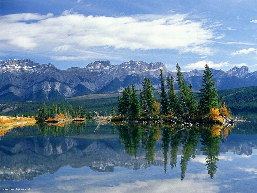 Foto desktop di laghetti di montagna 044