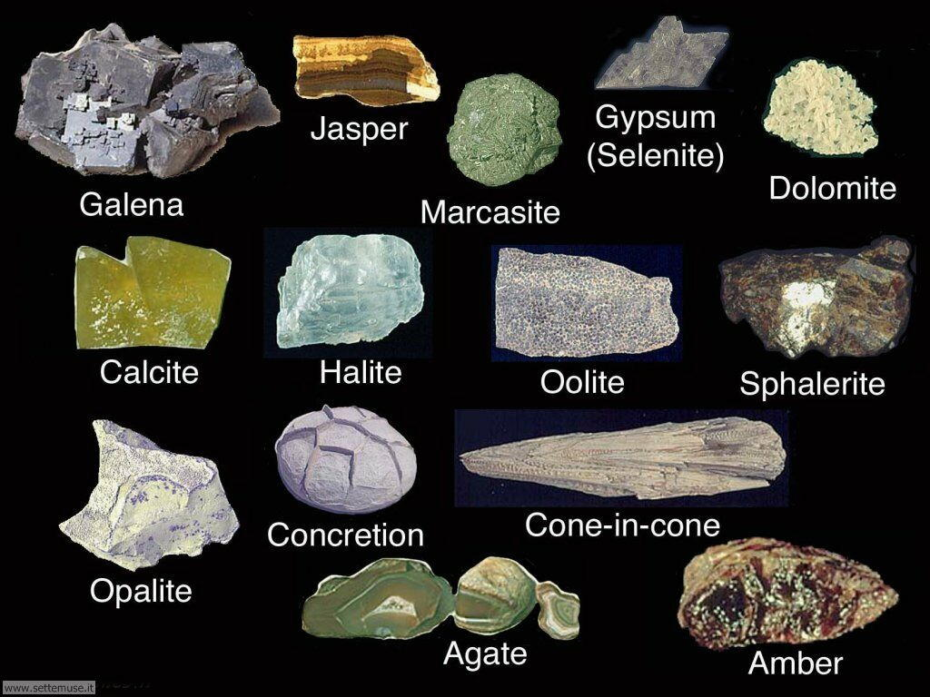 Rock identification and classification