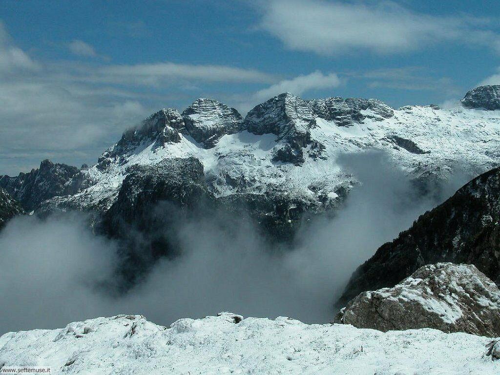 foto di montagne cime e vette per sfondi