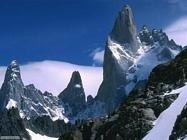 Foto desktop di montagne e cime