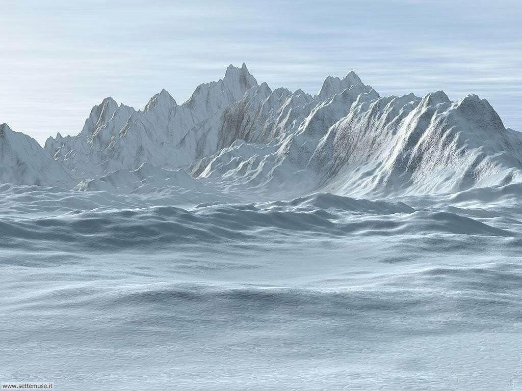 Foto desktop di neve e paesaggi innevati 001