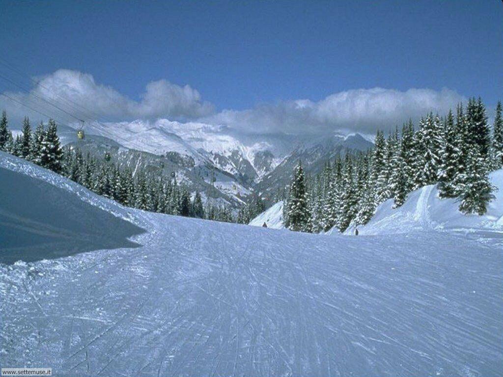 Foto desktop di neve e paesaggi innevati 008