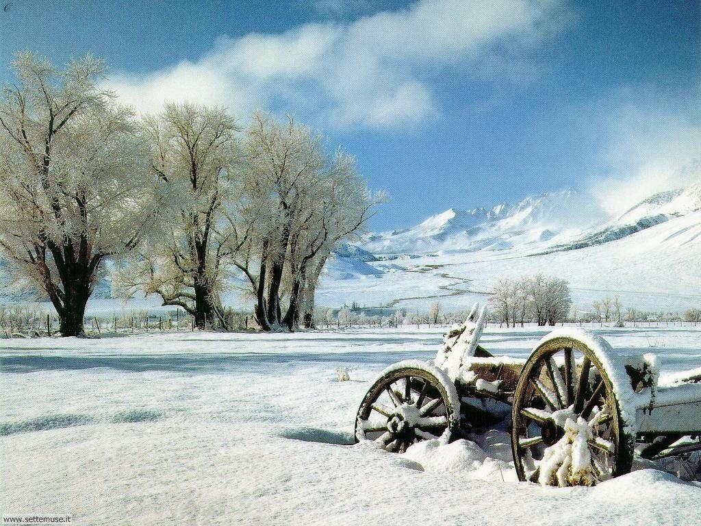 Foto desktop di neve e paesaggi innevati 011