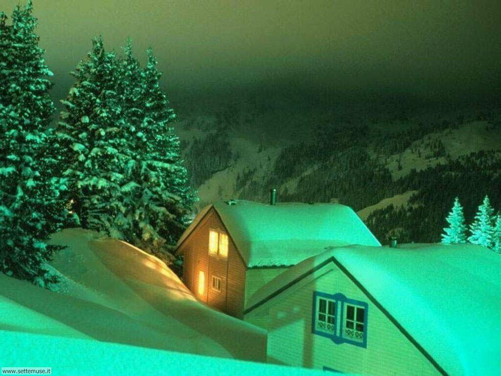 Foto desktop di neve e paesaggi innevati 022