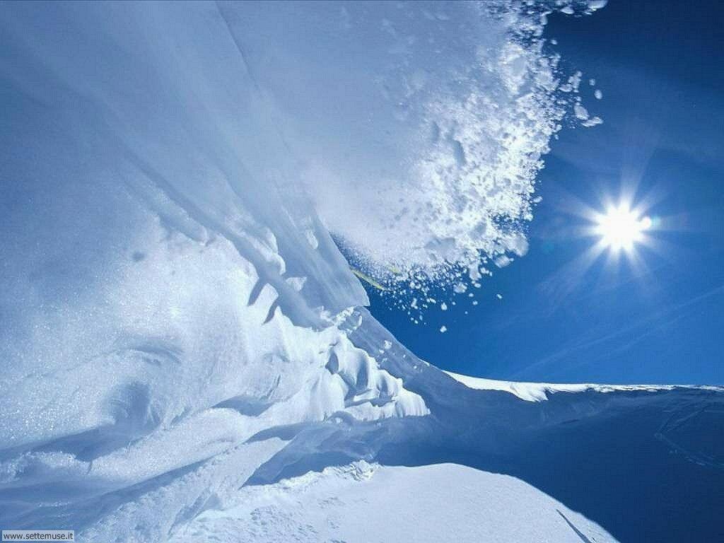 Foto desktop di neve e paesaggi innevati 025