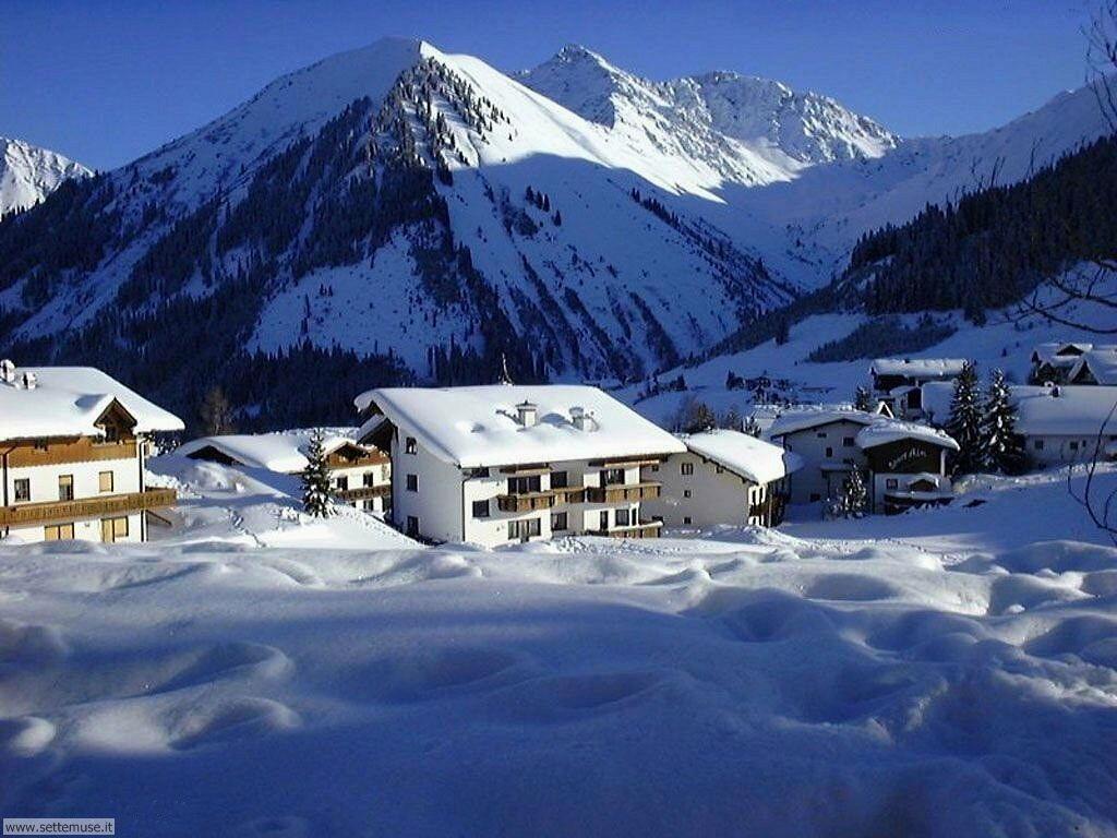 Foto desktop di neve e paesaggi innevati 026