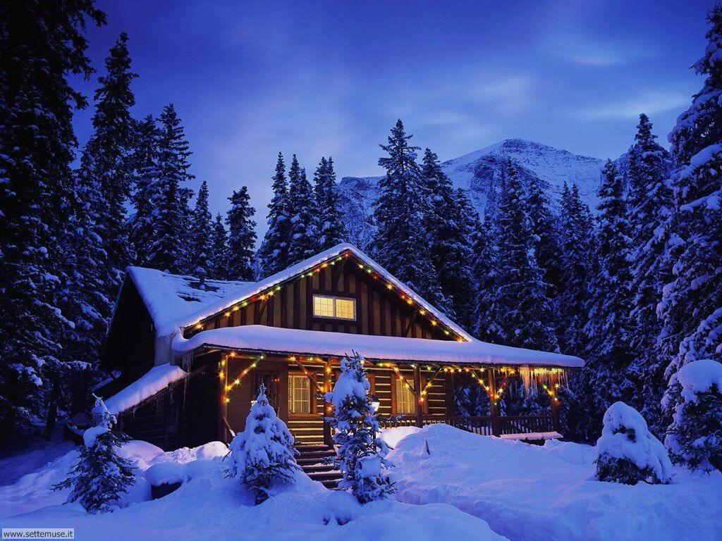 Foto desktop di neve e paesaggi innevati 030