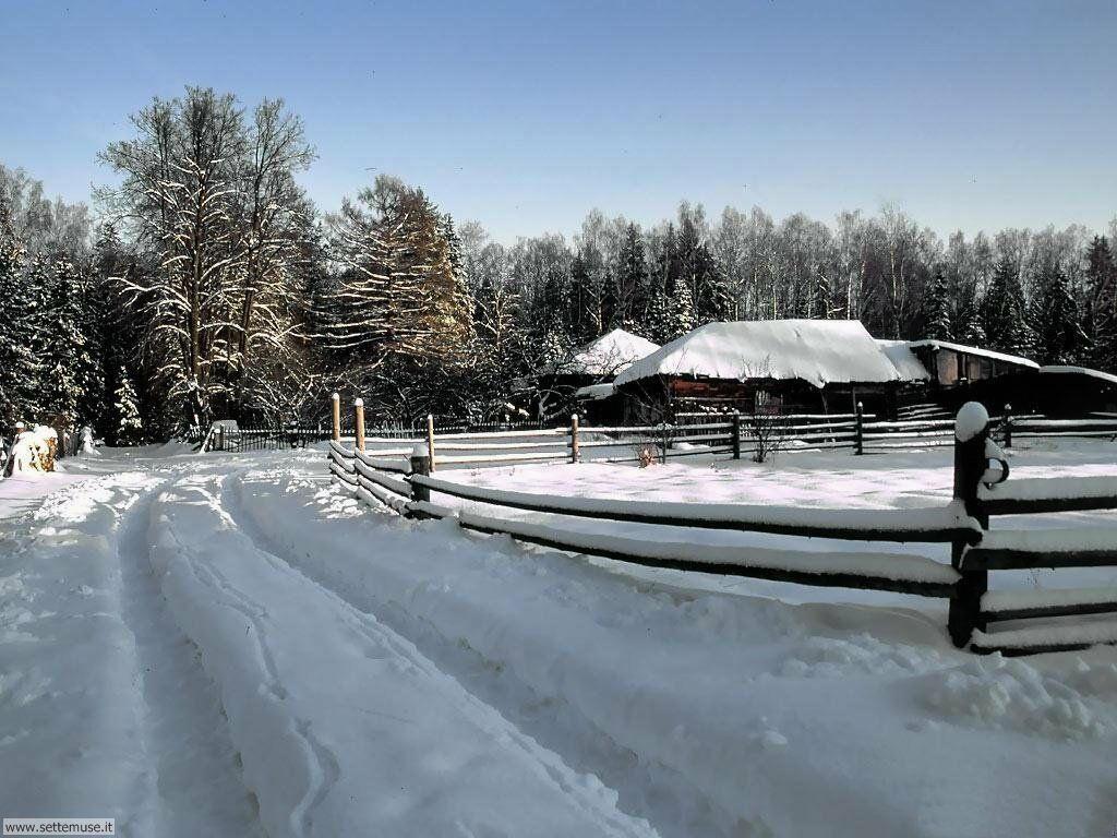 Foto desktop di neve e paesaggi innevati 031
