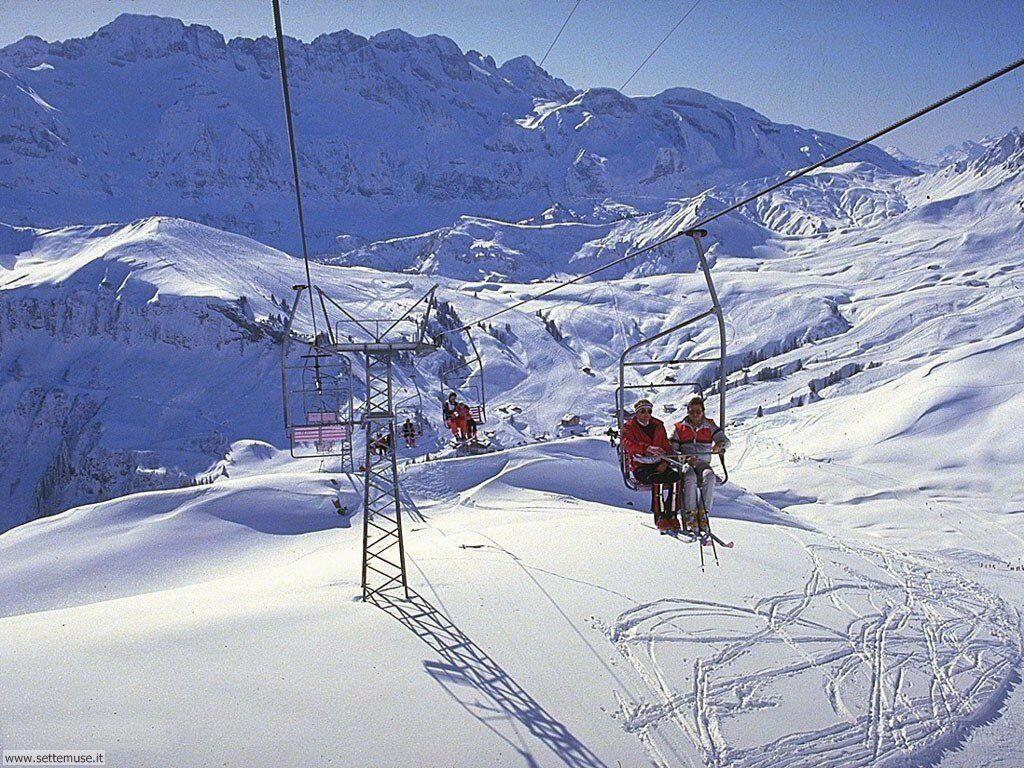 Foto desktop di neve e paesaggi innevati 033