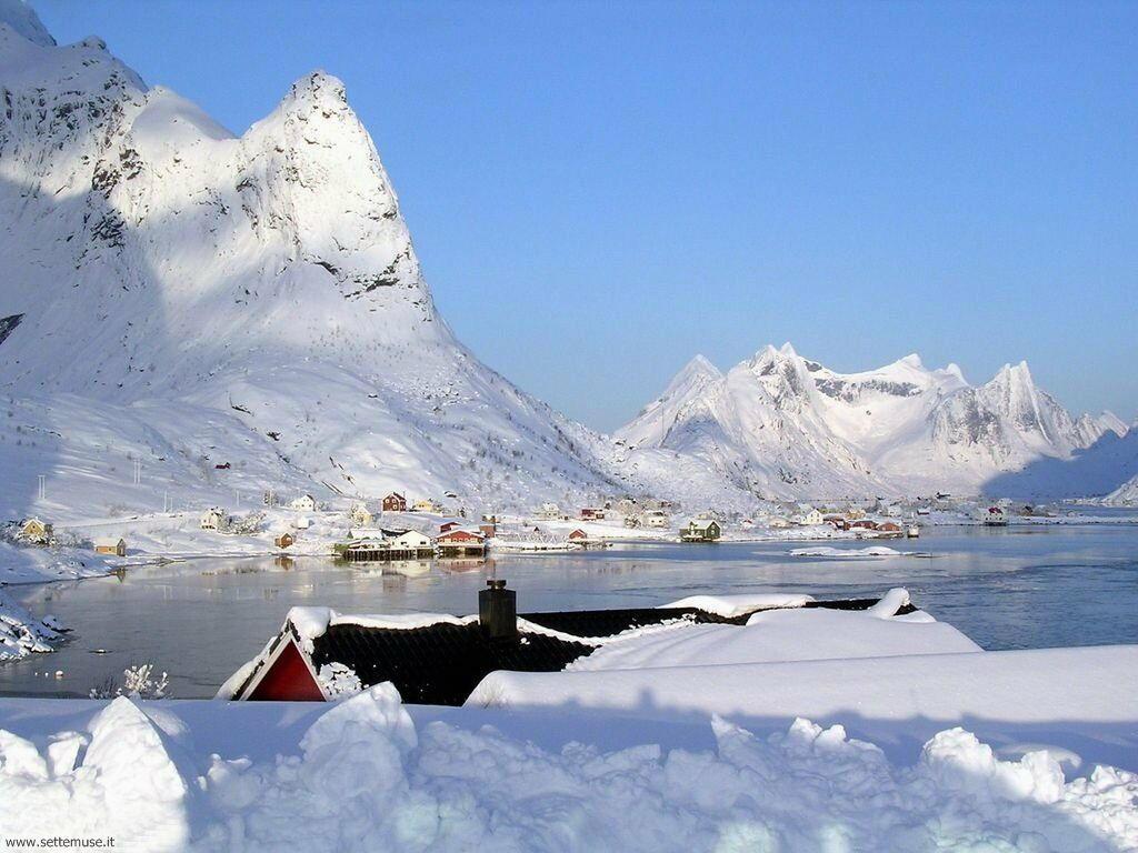 Foto desktop di neve e paesaggi innevati 034
