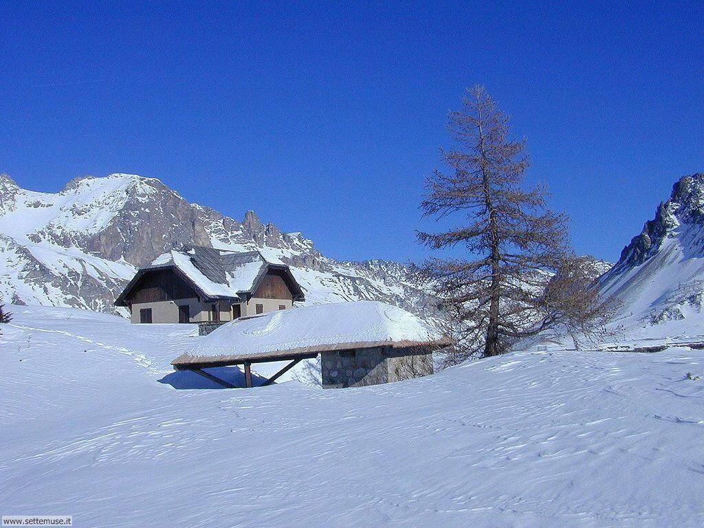 Foto desktop di neve e paesaggi innevati 041