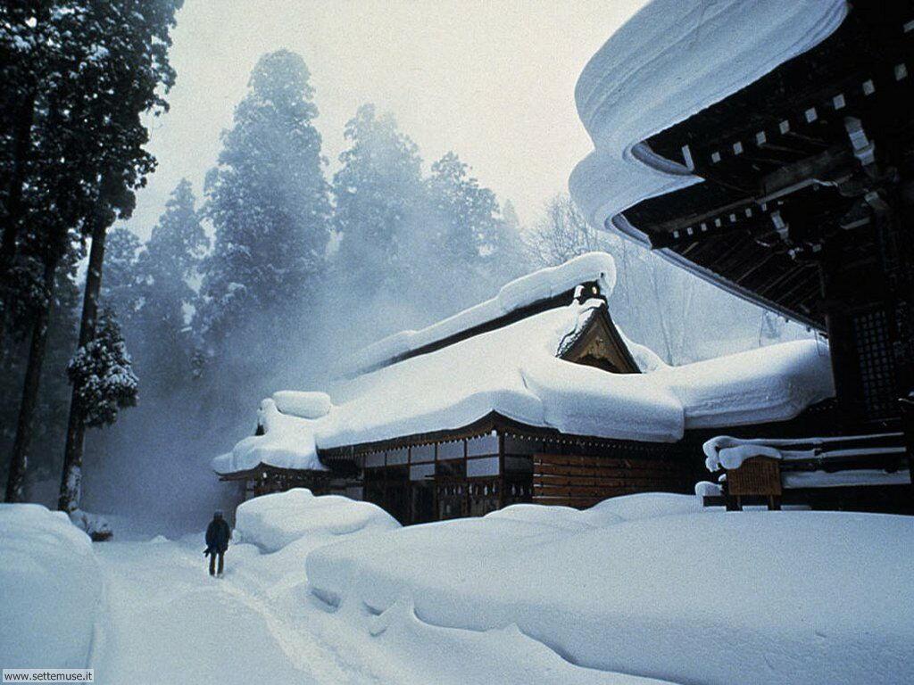 Foto desktop di neve e paesaggi innevati 042