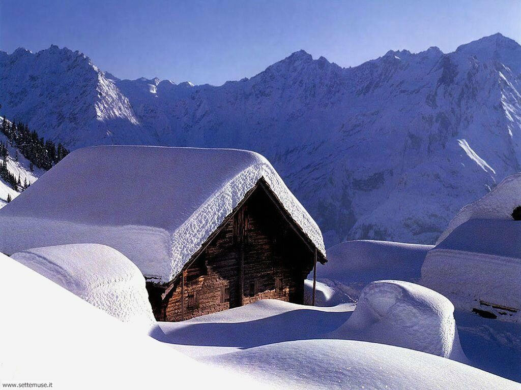 Foto desktop di neve e paesaggi innevati 043