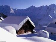 Foto desktop di neve e paesaggi innevati