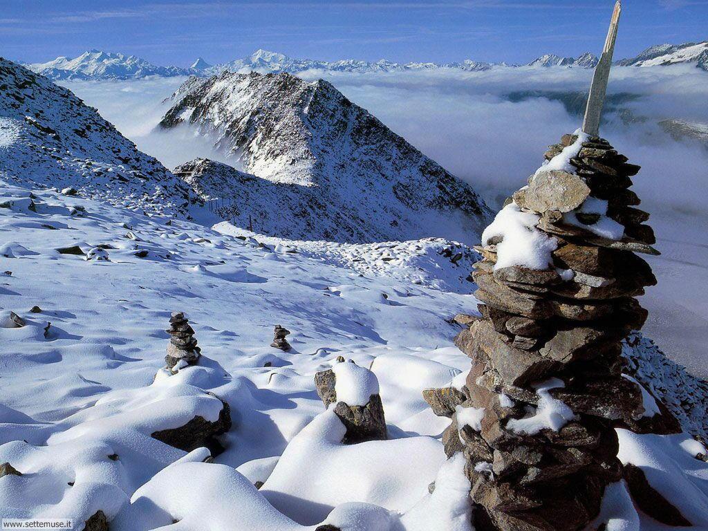 Foto desktop di neve e paesaggi innevati 044